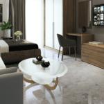 Tower Aoki Apartemen Vasanta Innopark Type Studio
