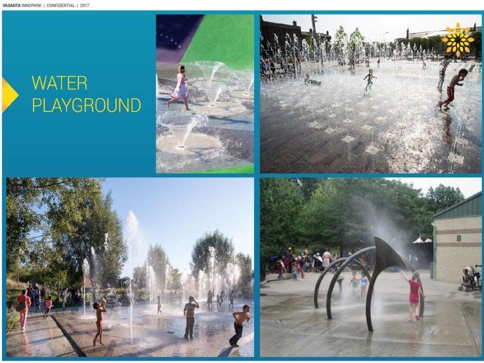 Water playground vasanta innopark