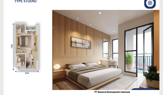 Tower Chihana Apartemen Vasanta Innopark Type Studio