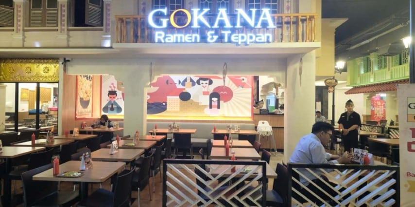 Gokana ramen, Restoran Di Area Vasanta Innopark